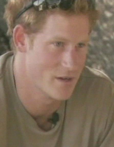 הנסיך הארי, יורש העצר באפגניסטן (צילום: חדשות 2)