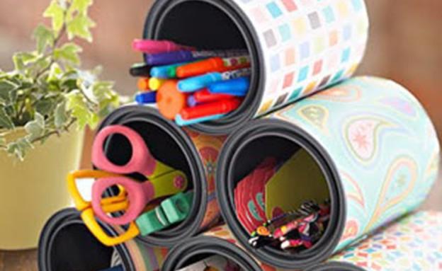 עטיפות, כלי כתיבה (צילום: CRAFTY STORAGE_5)