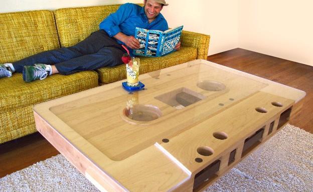 שולחן, קסטה איש (צילום: jeffskierkadesigns)