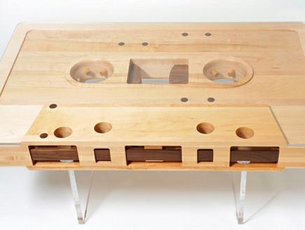שולחן קסטה (צילום: jeffskierkadesigns)