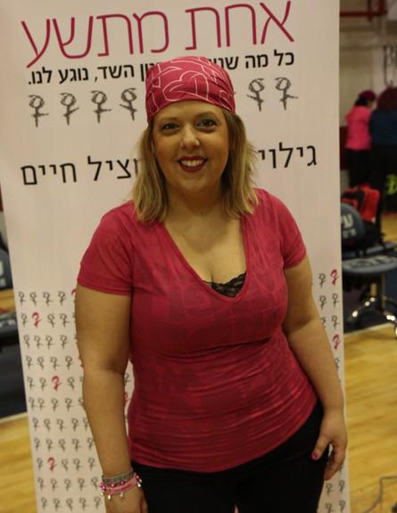 ענבל וינבר - זומבה (צילום: דורון ברגר. ביגוד באדיבות zumba wear ישראל)