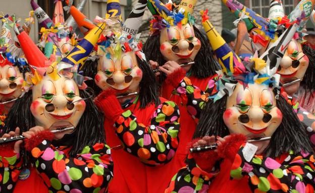 פסטיבל הפאסנאכט, קרנבלים בחורף