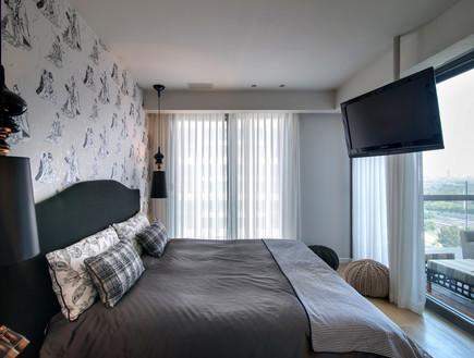 לי אולשה, חדר שינה (תמונת AVI: אילן נחום)