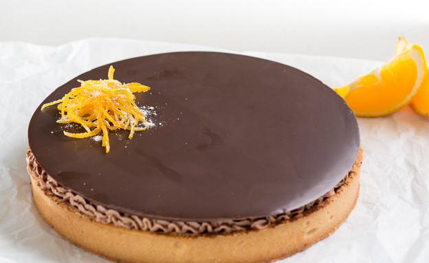 טארט שוקולד תפוז (צילום: בני גם זו לטובה, אוכל טוב)