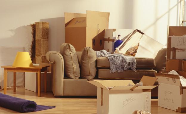 ניקוי בית, ארגזים (צילום: Ryan McVay, Thinkstock)