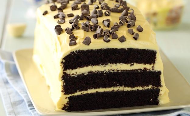 עוגת שוקולד ופסיפלורה - רוחב (צילום: חן שוקרון, אוכל טוב)