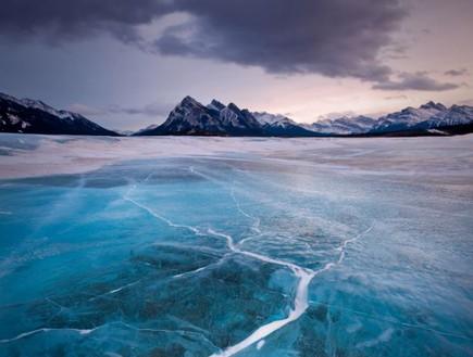 אגם מלאכותי קפוא, תופעת טבע באגם