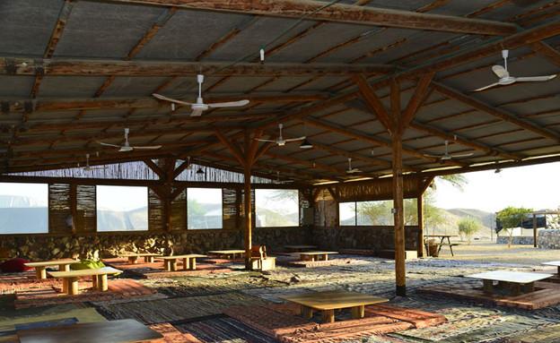 חאן נחל ערבה, קמפינג בחורף (צילום: צילום- אריק בלטינשטר)