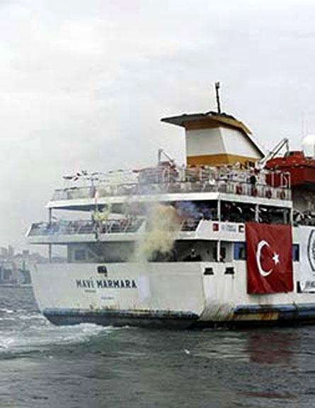 הספינה הטורקית מרמרה (צילום: חדשות 2)