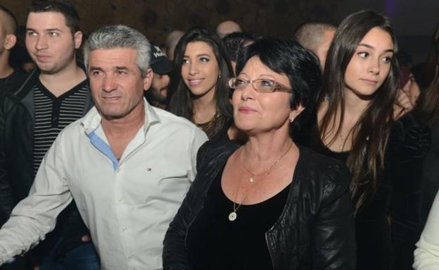 שרית אביטן - המשפחה בהשקה (צילום: שרון רביבו)