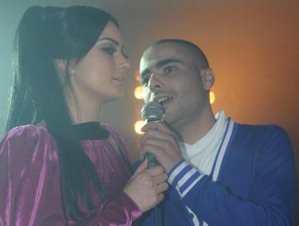 שרית אביטן ושיר לוי בהשקה (צילום: שרון רביבו)