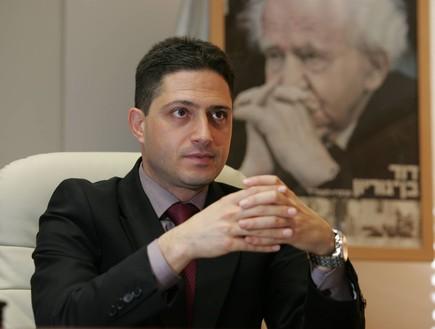 רוביק דנילוביץ' ראש עיריית באר שבע