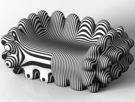 ספות שחור לבן