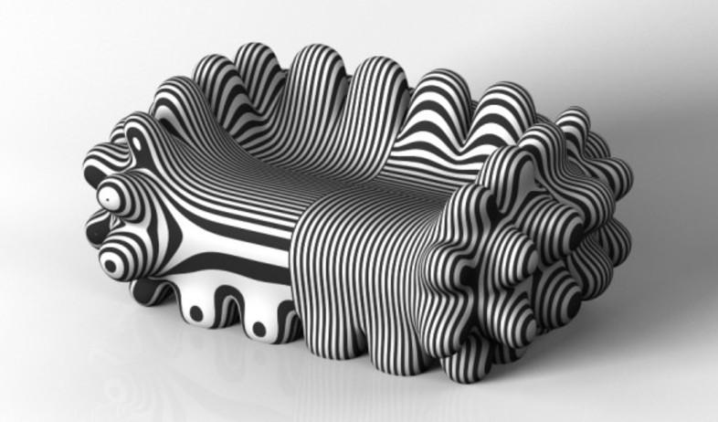 ספות שחור לבן (צילום: www.omcdesign.com)