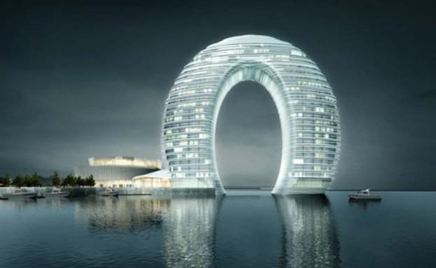 מלון שרתון אור לבן (צילום: collabcubed.com)