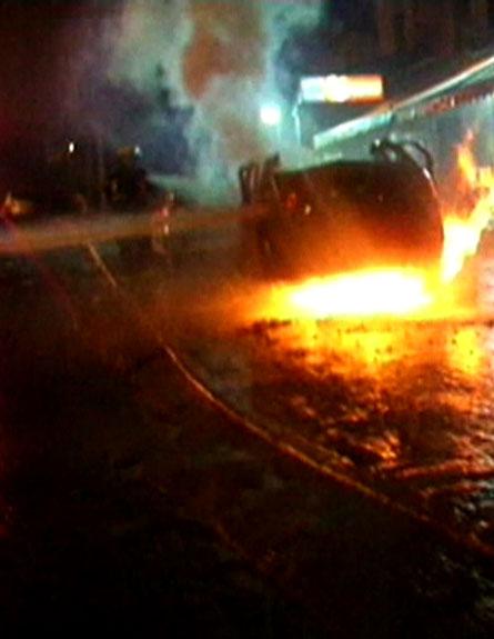 פיצוץ בדרום תל אביב (צילום: חדשות 2)