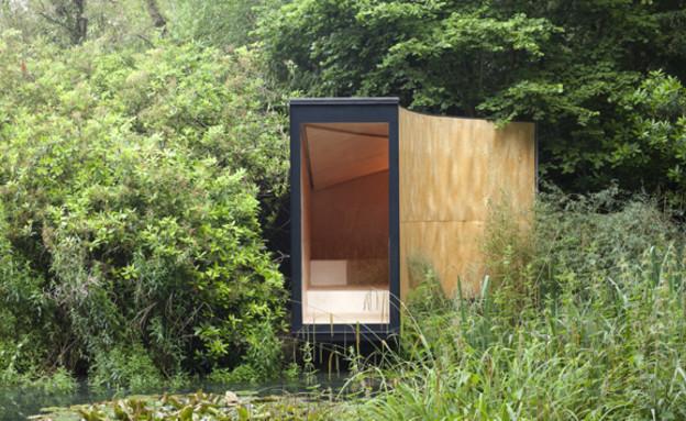 בית בביצה, יער (צילום: tdoarchitecture.tumblr)