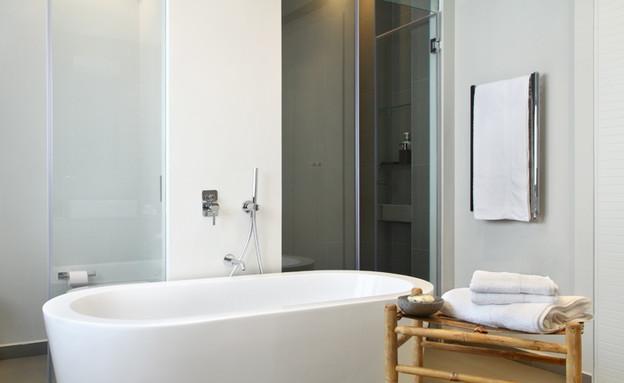 דירה, אמבטיה (צילום: הילית כספי)