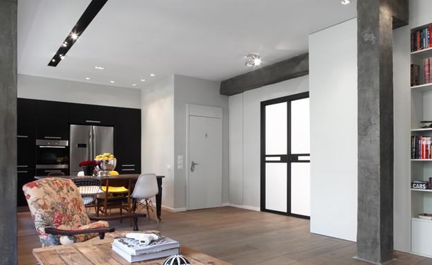 דירה, כניסה (צילום: הילית כספי)