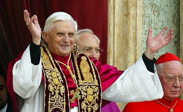הרגעים הוורודים של האפיפיור (צילום: Giuseppe Cacace, GettyImages IL)
