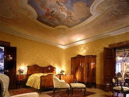 החדר במלון דניאלי ונציה, מלונות רומנטיים