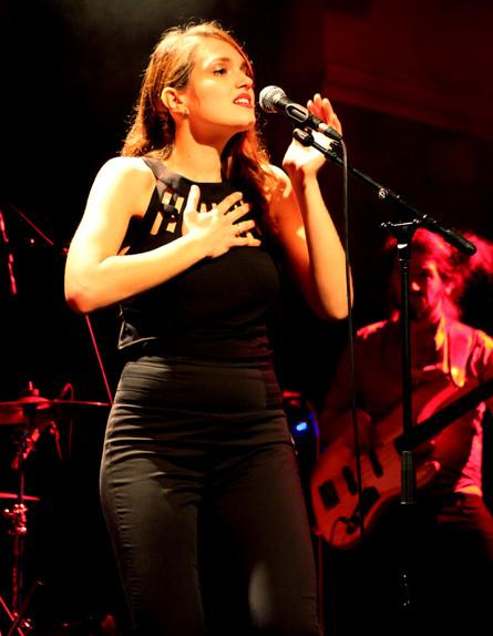 מארינה מקסימיליאן קרני בהשקה (צילום: אורית פניני)