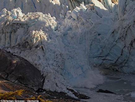 רגע ההתנפצות, קרחון בארגנטינה