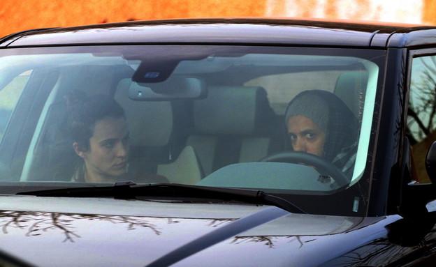 יאנה יוסף וציון ברוך ברכב ביחד (צילום: ג'קי יעקב)