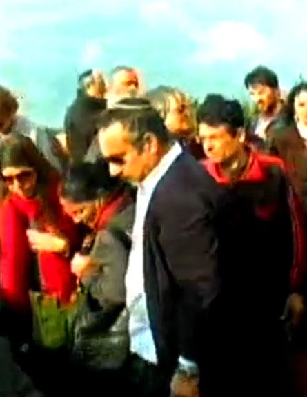 שמוליק קראוס הלוויה (צילום: חדשות 2)