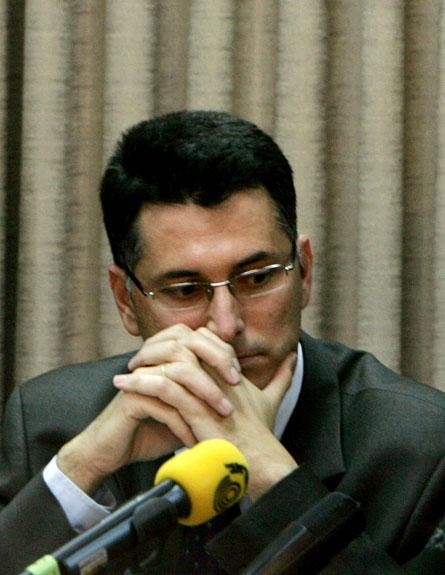 פרשת המכתב נגד גדעון סער (צילום: רויטרס)