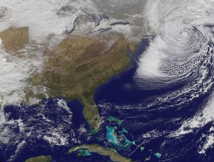 הוריקן בארהב, תמונות מהחלל