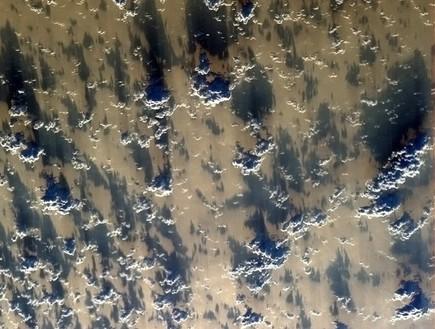 עננים, תמונות מהחלל
