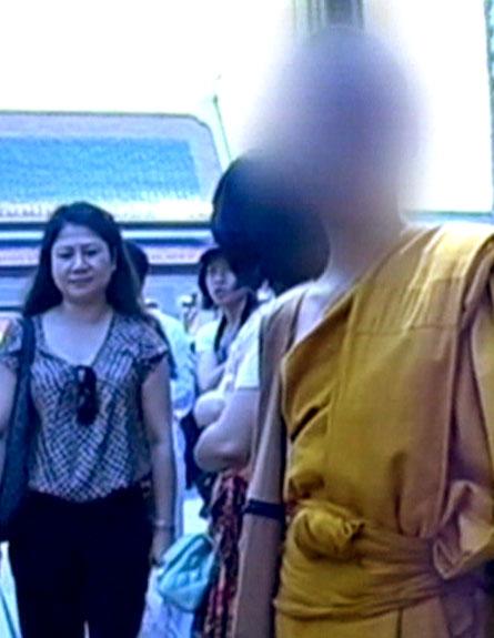 הילד במנזר בתאילנד (צילום: חדשות 2)