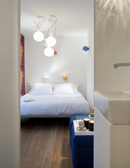 קונטיינר מלון בלגיה, חדר שינה