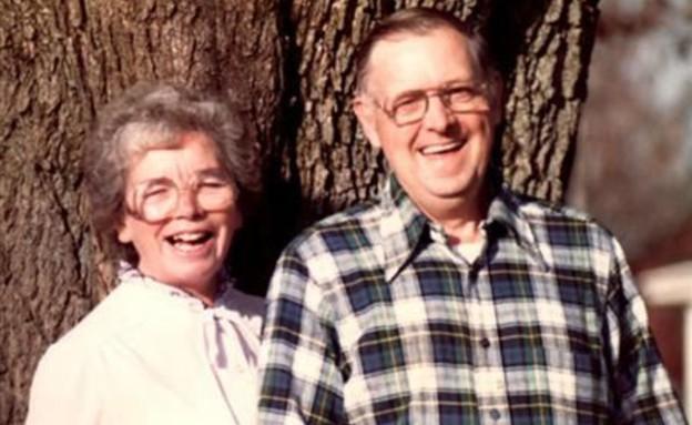 נורמן וגוון הנדריקסון (צילום: yahoo.com)