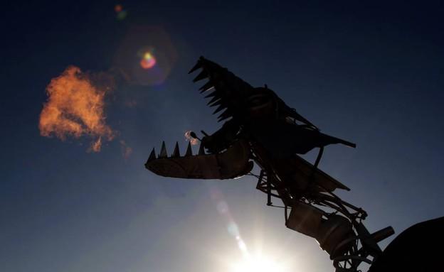 ברנינג מן (צילום: נעם וינד)