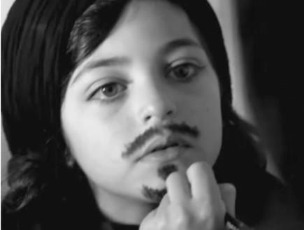 ילד בתפקיד אושרי כהן בקליפ
