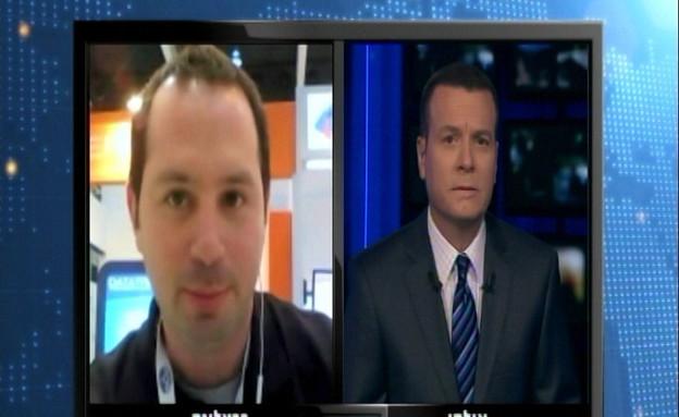 """ראיון עם איתי שגיא, מנכ""""ל לקסיפון (תמונת AVI: mako)"""