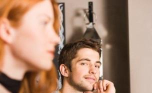 בחור בוהה בבחורה (צילום: Thinkstock, getty images)