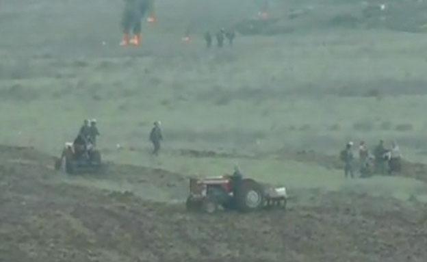 התנגשויות אלימות בין מתנחלים ופלסטינים (צילום: חדשות 2)