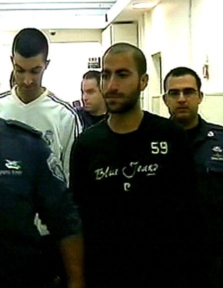 הנאשמים בהצתה (צילום: חדשות 2)