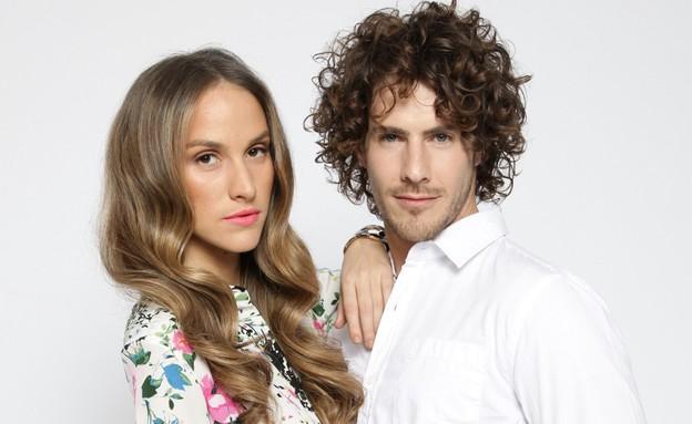"""איילה רשף וטומי אלתגר (צילום: דודי חסון למגזין """"Bellemode"""")"""