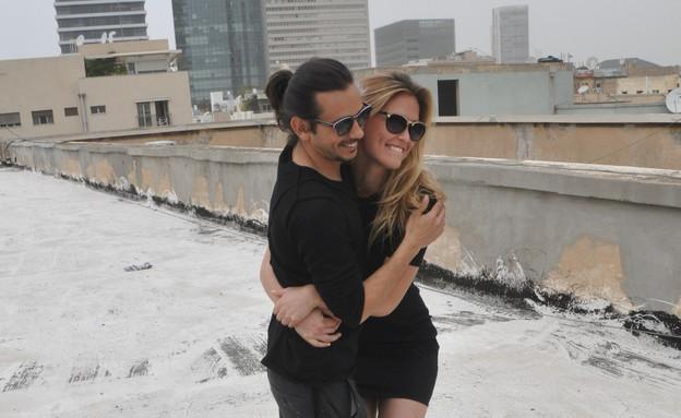 בר רפאלי וציון ברוך בקמפיין ראשון ביחד (צילום: צ'ינו פפראצי)