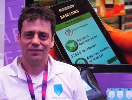 רן רוזין, ממייסדי Tag a Bag (צילום: ניב ליליאן)
