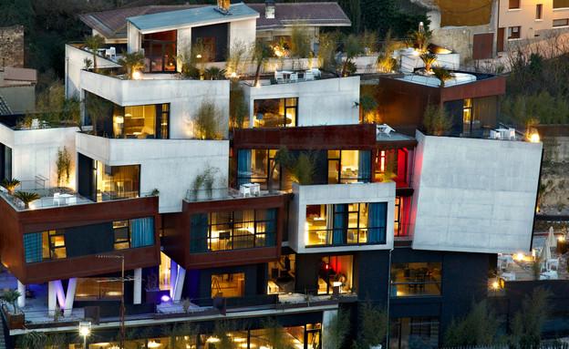מלון בספרד, חזית (צילום: מתוך האתר hotelviura)