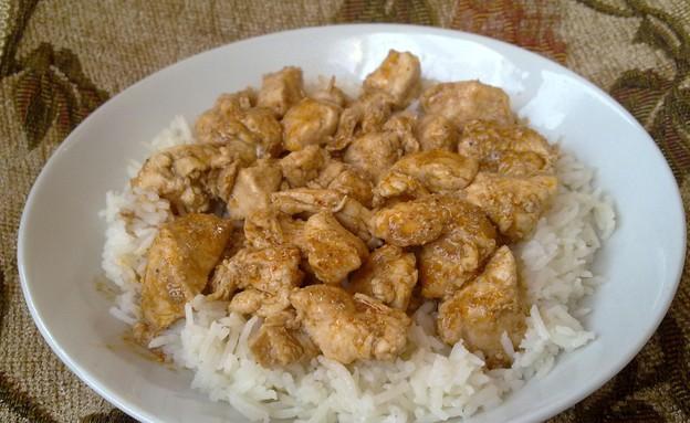 חזה עוף ברוטב סויה (צילום: רותה ט, טעים ללא גלוטן)