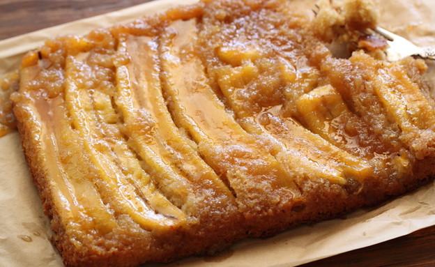 עוגת בננה הפוכה (צילום: חן שוקרון, אוכל טוב)