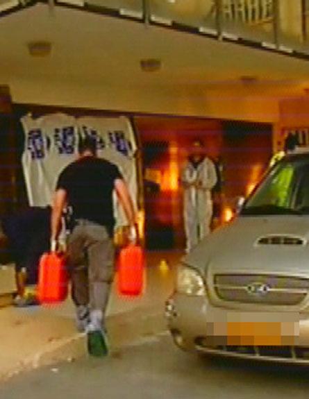 זירת רצח והתאבדות בחיפה (צילום: חדשות 2)