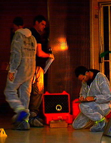זרית רצח קריות זיהוי פלילי (צילום: חדשות 2)