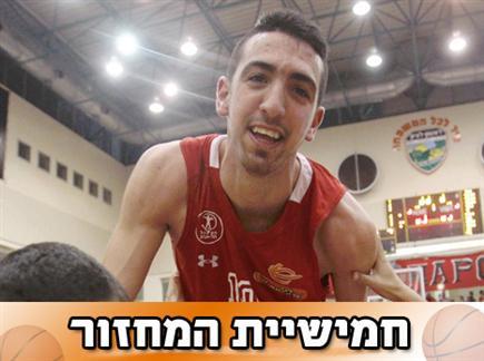 בר טימור, גיבור הניצחון בדרבי (אלן שיבר) (צילום: ספורט 5)